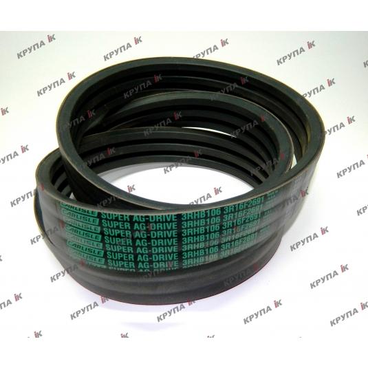Ремень 8010 привода измельчителя (3RHB-2690мм.) 2800об/мин