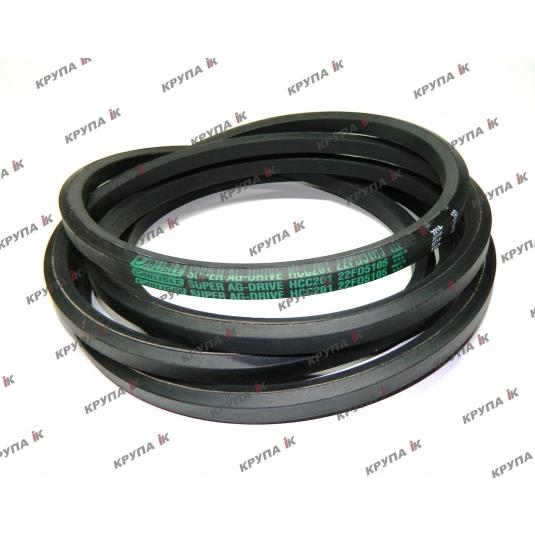 Ремінь шестигранний приводу елеватора 181055C1 (з подрібнювачем)  (5105 мм.)