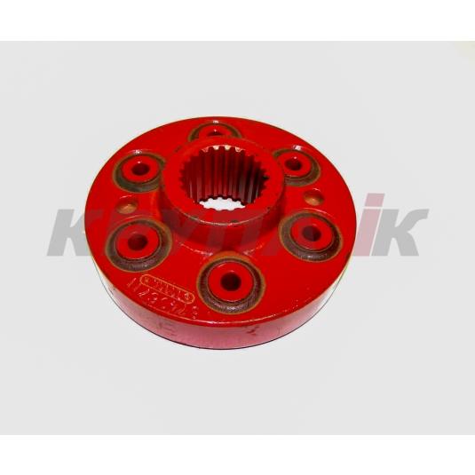 Муфта привода ротора 2388 косозубых 3 скор редуктор 23T (6 bolt)