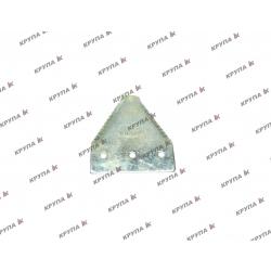 Сегмент З МЕЛКИМ ЗУБОМ ножа жниварки 1010, 112074A1, 826720C3, 596321R4, 86615988