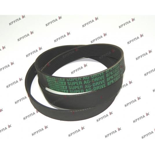 Ремінь привода помпи тр-ра MX270 (8PK-1622мм.)  J911564, 5802350478