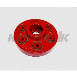 Муфта приводу ротора 2388 косозуб 3- скор редуктор 23T(6 bolt)